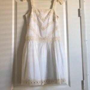 Ann Taylor white dress
